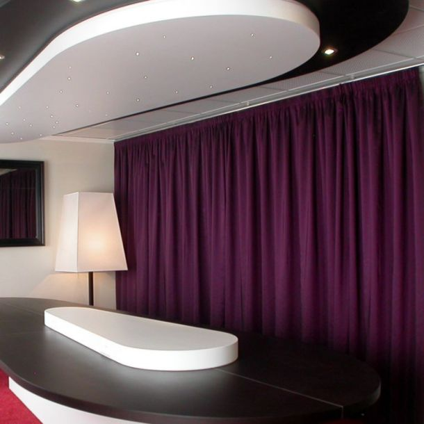 Hotel Foyer Du Marin Douala : Rideau foyer du marin